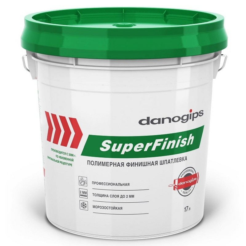 Шпатлевка Sheetrock SuperFinish 28 кг (Даногипс) универсальная