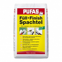 Pufas Full+Finish Spachtel шпатлевка финишная 20 кг